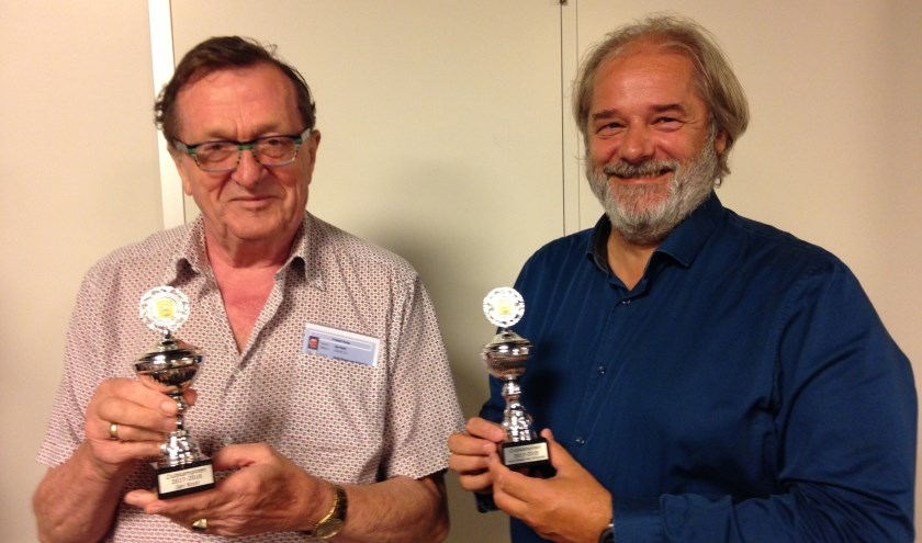 Kampioenen Jan en Huib. (Foto: I. van der Zee)