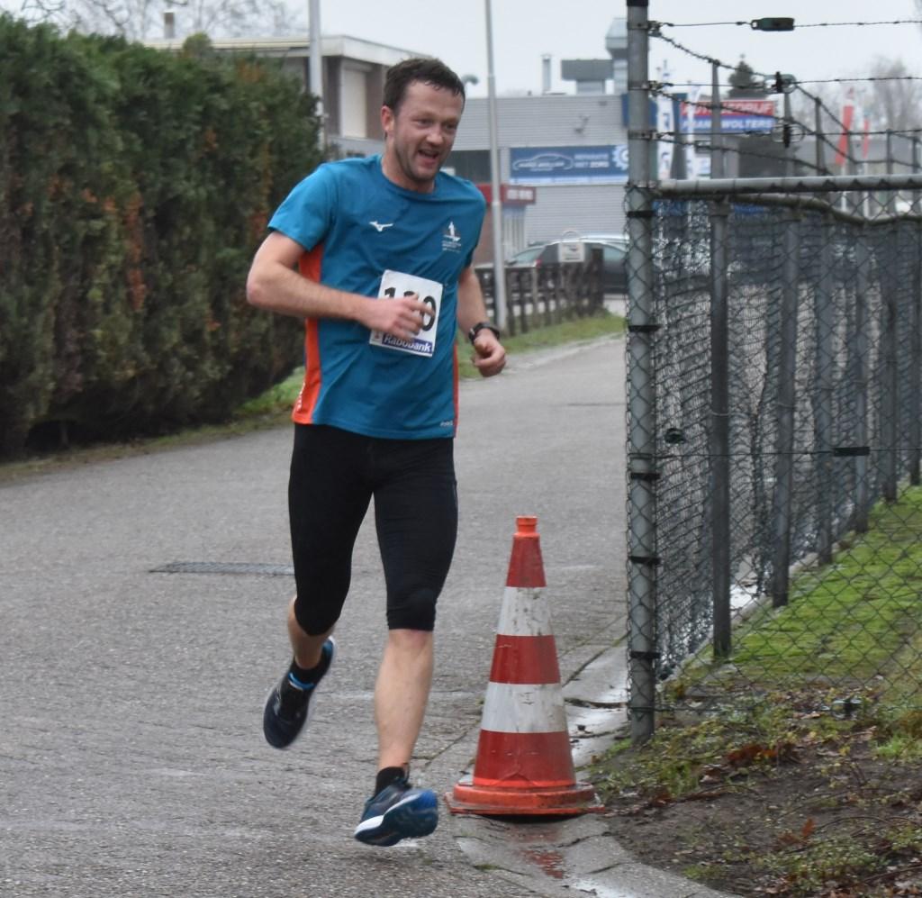 Marcel Brinks uit Nijverdal kwam als zevende over de finish met een tijd van 43.26. Foto:  © DPG Media