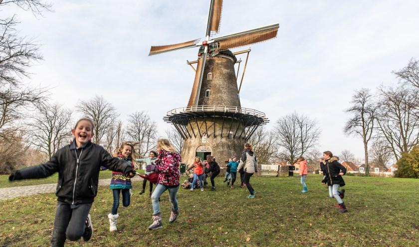 Nu vrijwel de hele voorraad aardappels verkocht is, kunnen alle kinderen van Scoutinggroep Lutem mee op winterkamp. FOTO: MARCELLE DAVIDSE