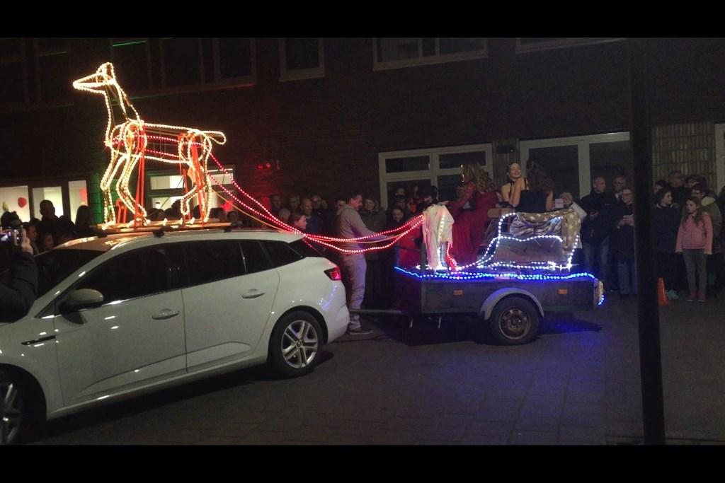 De winnaar met origineelste voertuig Foto: Yeb Heerema © DPG Media