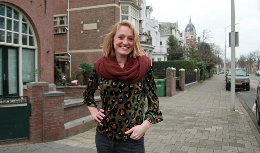 'In het Haagse vind je een veelkleurig gezelschap en niet te veel poeha', zegt Eline Dragt uit Amsterdam. (Foto: Peter van Zetten).