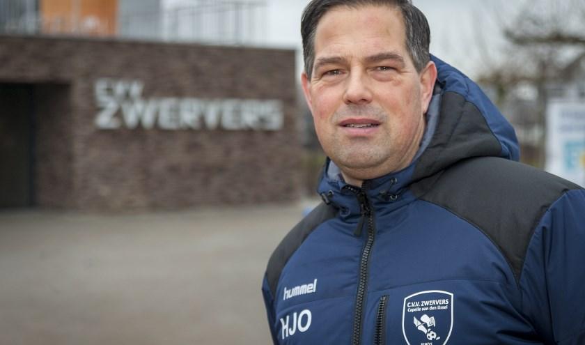 Enar Krootjes ziet ook de komende jaren veel perspectief in CVV Zwervers. (Foto: Wijntjesfotografie.nl)