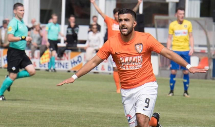 Serhat Koç (9) scoorde al dertien keer in de Derde Divisie.