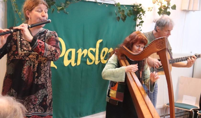 Parsley presenteerde met succes haar nieuwe CD aan een groot publiek.