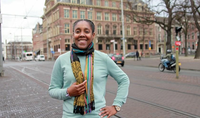 """""""Den Haag is een mooie stad en veel beter om je kind in op te laten opgroeien dan in Amsterdam.""""(Foto: Peter van Zetten)."""