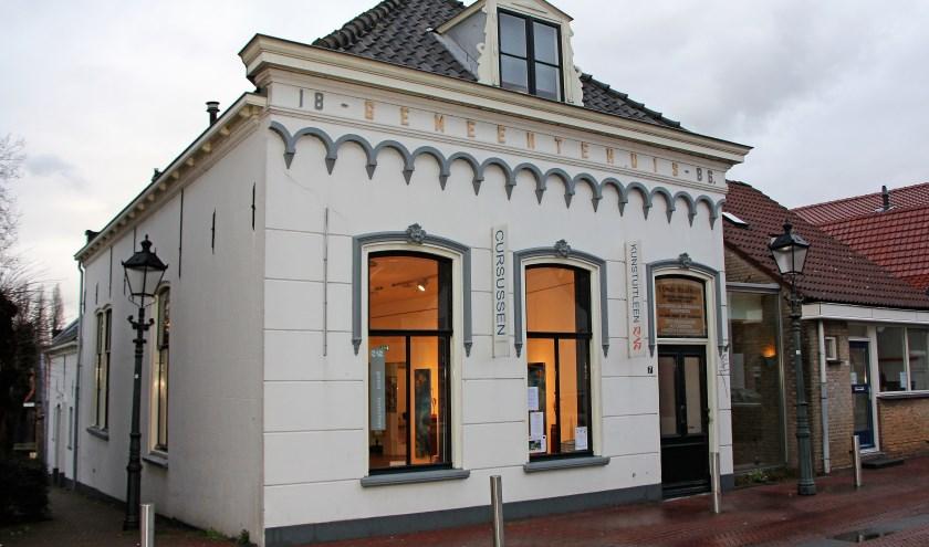 Pand van 't Oude Raadhuys in Spijkenisse.