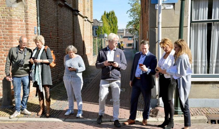 Montfoort 26-09-2018 Introductie van de Wandelapp Montfoort-Linschoten