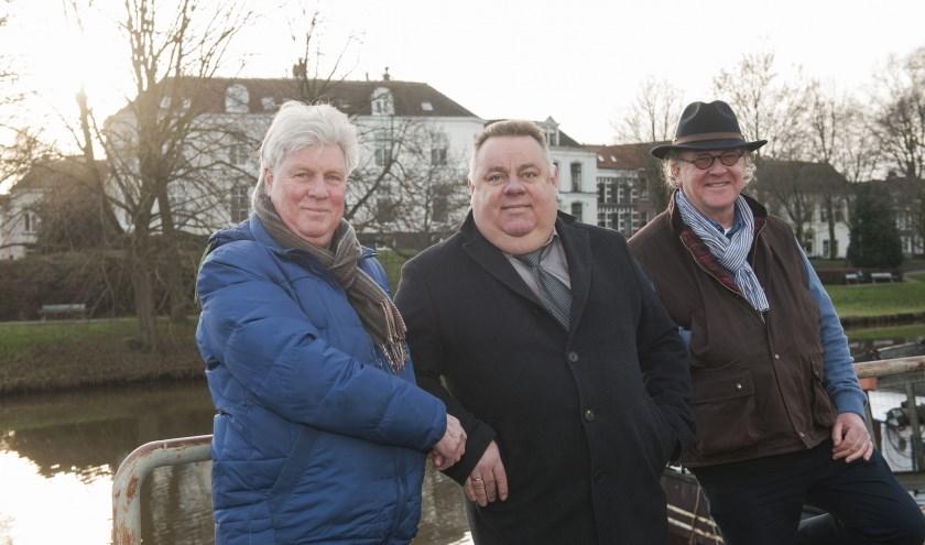 De organisatie van Open Ton, van links af John Kuyer, Henk Twerda en Menno Beijer.