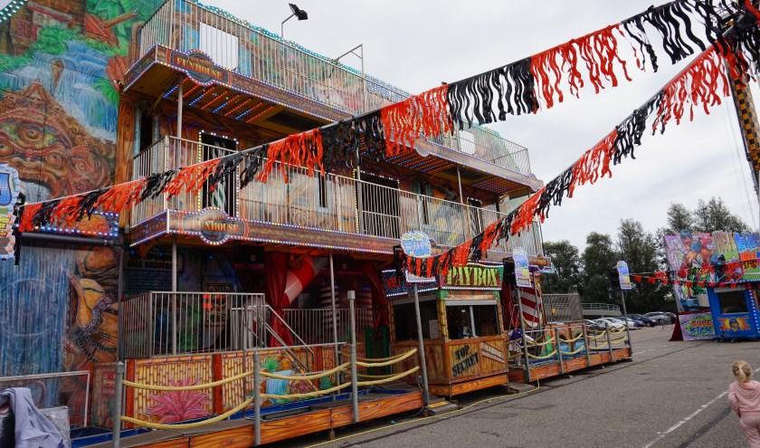 Ook de Uncharted Funhouse staat dit jaar op de kermis.