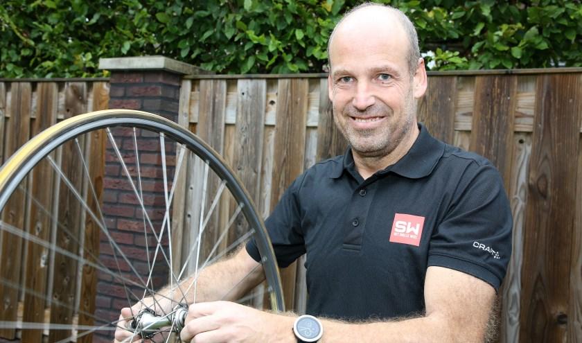 Ruud Verhagen van wielrenner naar topcoach . Foto: Theo van Sambeek