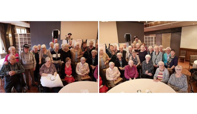 Senioren uit Westervoort en Duiven.