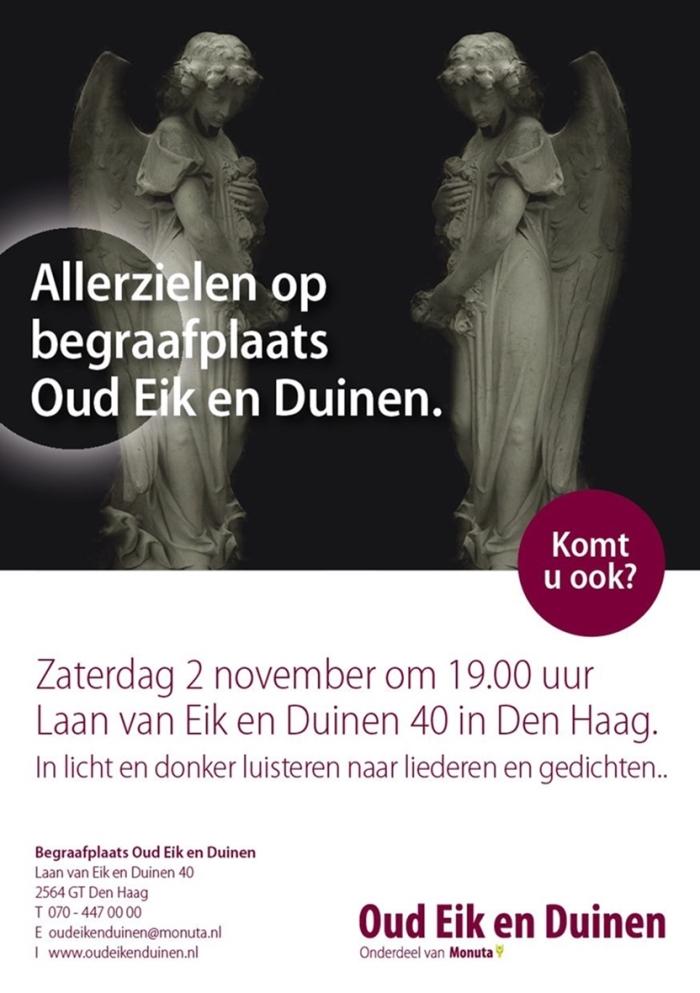 Activiteit Allerzielen 2019 In Den Haag De Posthoorn