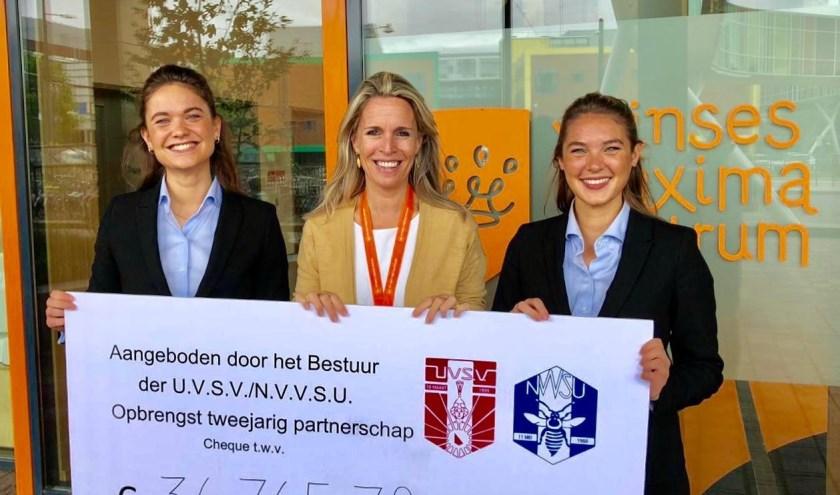 Studenten halen duizenden euro's op voor het Prinses Máxima Centrum voor kinderoncologie