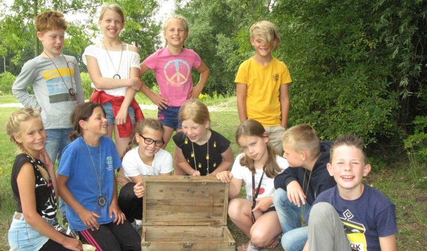 Jong Nederland Drunen verzorgt het hele jaar door leuke activiteiten voor kinderen. Foto: Tonnie Rekkers