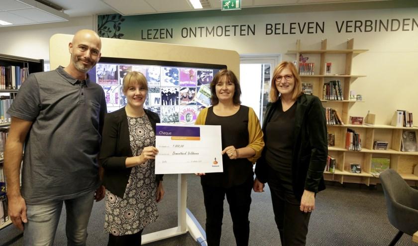 V.l.n.r. Bas Delfsma, Imke Duijf, Jolanda Hoeben en Marja Hoeks (Foto: Jurgen van Hoof).