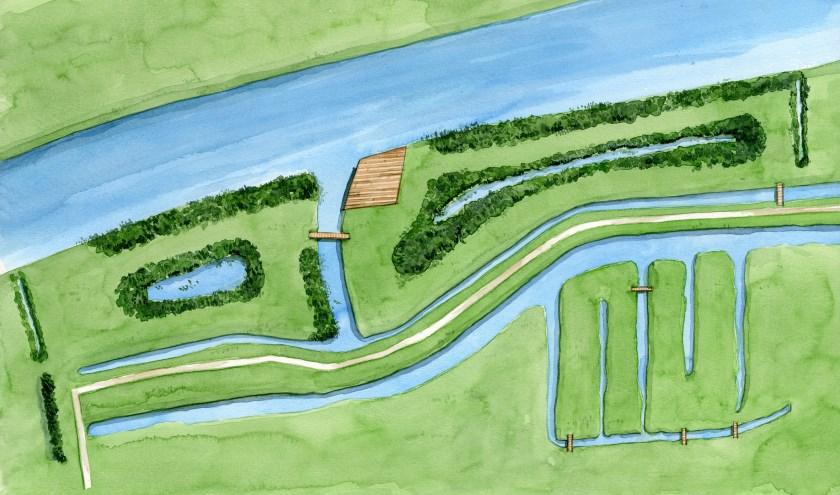Door de aanpassingen in het gebied kunnen bezoekers er nu wandelen, picknicken, vissen of met de kano aanmeren.