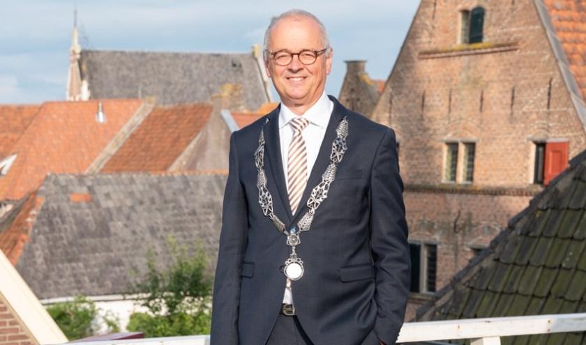 Jan Willem Wiggers neemt afscheid als burgemeester. 'Interesse in mensen, mensen met elkaar verbinden, dat past bij de rol van burgemeester.'