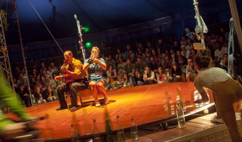 Een muzikale circusbelevenis in Theater de Veste.
