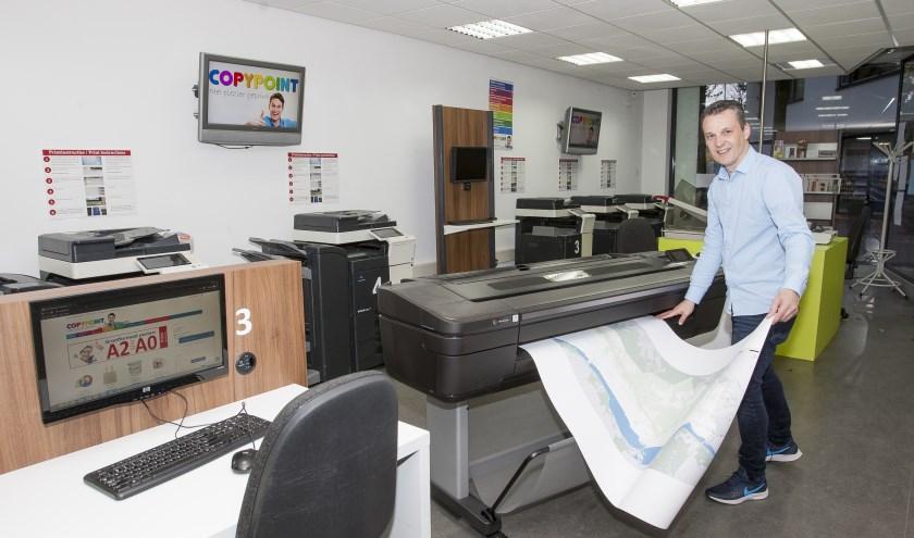 Sinds deze zomer beschikt Copypoint over de nieuwste grootformaat printer van HP.