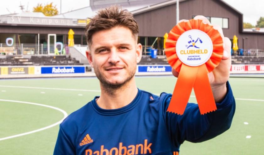 Hockeyer Robbert Kemperman is één van de ambassadeurs van de verkiezing.