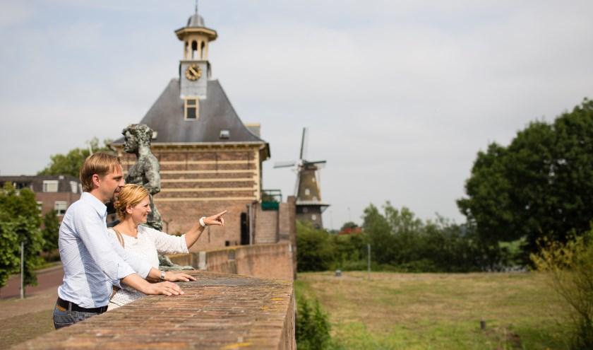 Via de Vestingdriehoek is Gorinchem toeristisch op de kaart gezet. Foto: H. de Kock