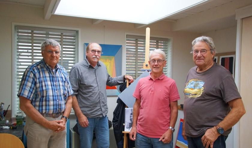 Johan, Willem, Kees en John willen ze de stad opvrolijken als het gaat om leegstaande panden en ten tweede willen ze kunstenaars een podium bieden.