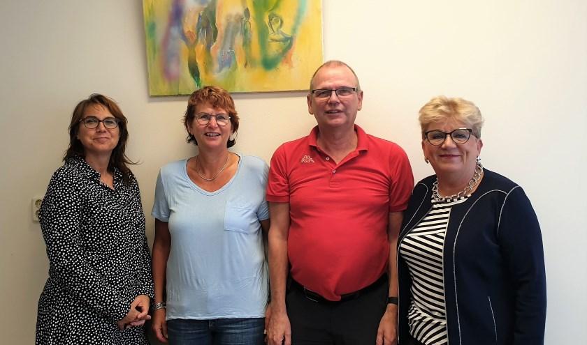 Heleen van Dongen, Ronald en Marion Assink, Riet Middelhoek. Foto: Robbert Roos