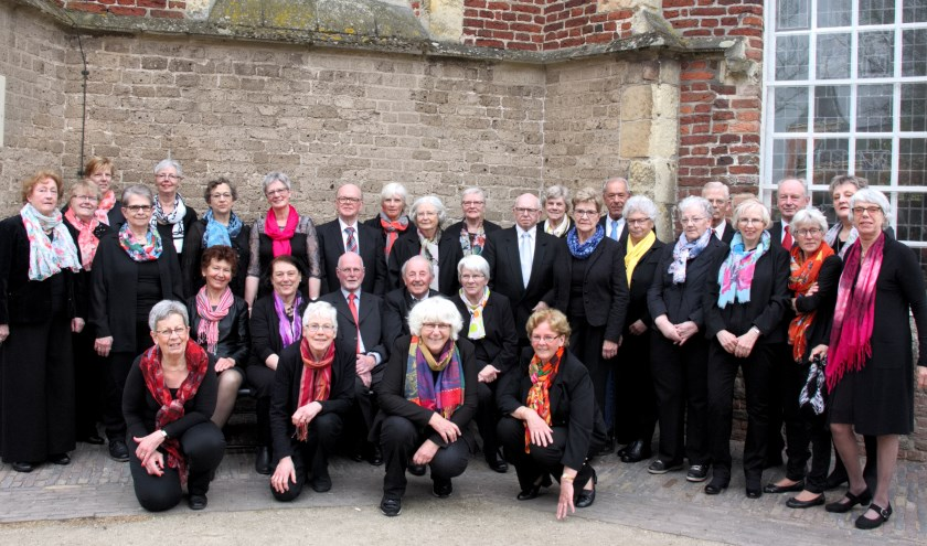 Het koor Bel Canto uit Eibergen verzorgt een optreden in De Huve op zondag 20 oktober.