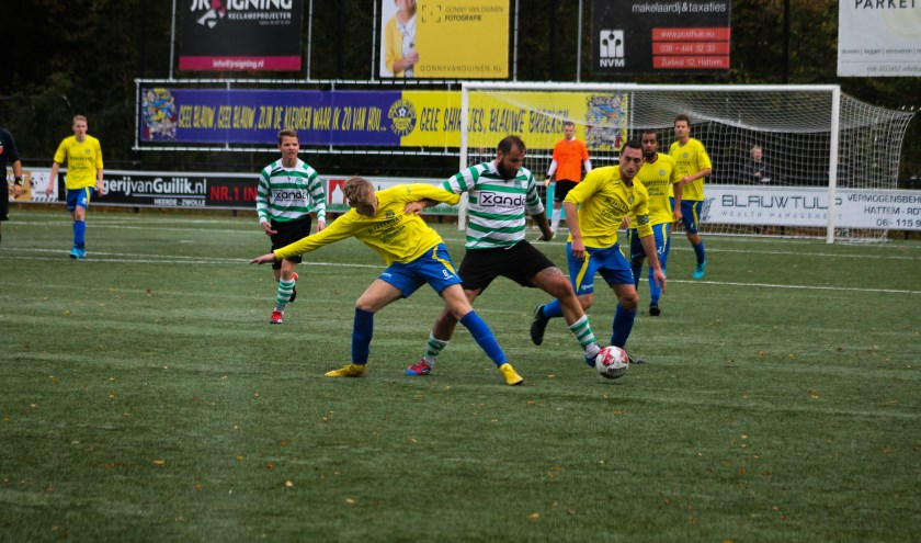 De topper tussen Hatto-Heim en Zwolse Boys isop uitstekende wijze door Hatto-Heim gewonnen met 3-1. Foto: Gradus Dijkman