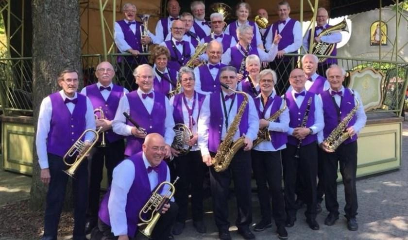 Het Seniorenorkest De Langstraat en Omstreken speelt zondag 6 oktober in Het Klavier in Kaatsheuvel. Foto: Harmonie Kaatsheuvel
