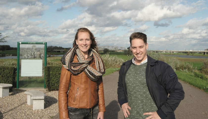 De Westervoorterse filmmakers Sascha Wensveen en Paul Haans ontwikkelen het programma 'Vrijheid in de Liemers'.