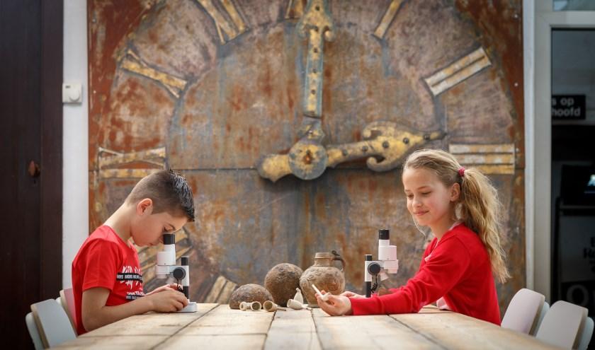 Liefhebbers van archeologie zijn drie dagen lang welkom in het Palthe Huis. Foto: N. Kamper