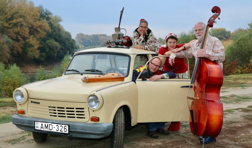 Trio Trabant met Edina Csüllog