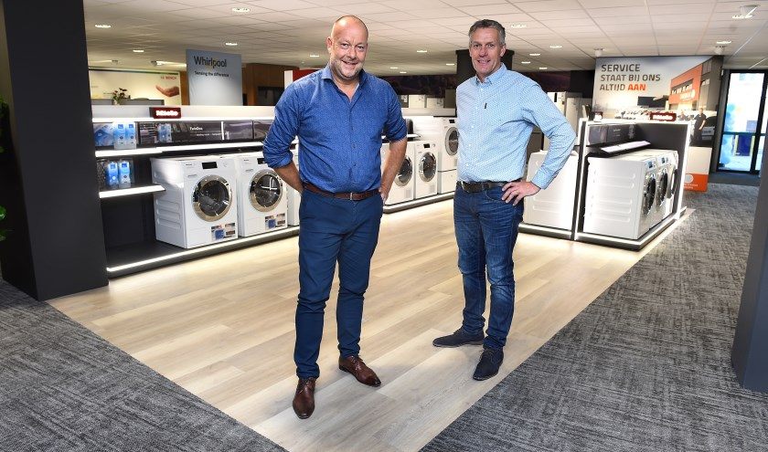 Gerben Obbink (links) en Jan Witteveen. (foto: Roel Kleinpenning)