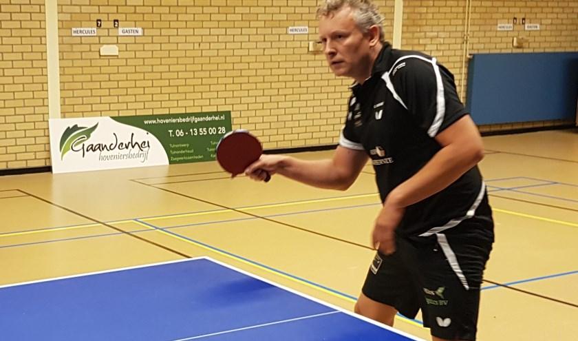 Gerko Wiemer versloeg in een spectaculair duel Frank Hollak.