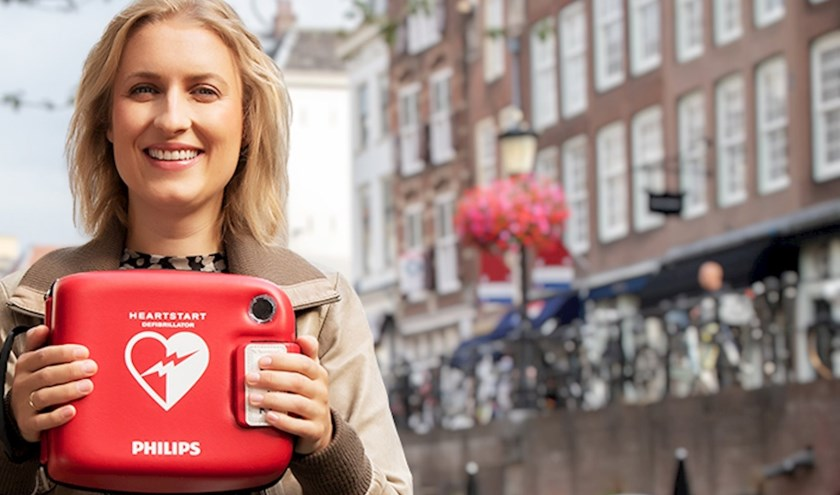 De Hartstichting roept buurtgenoten op om samen een crowdfunding te starten voor een AED in de buurt. (Foto: Hartstichting).