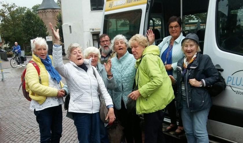 Deze mensen genoten van een uitje naar Texel met de Plusbus