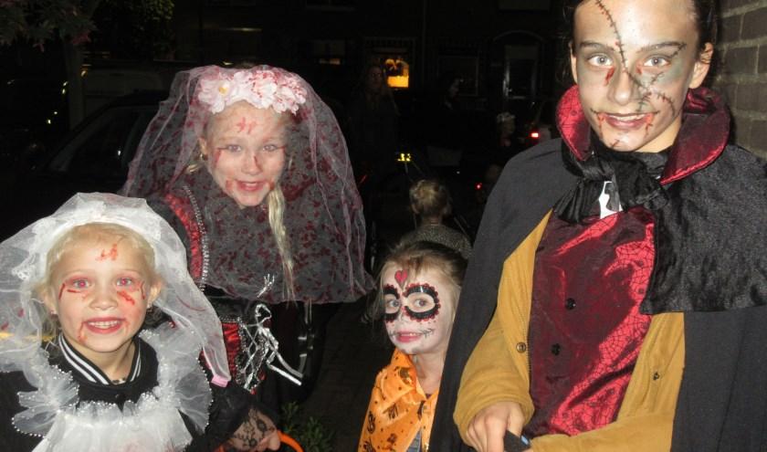 Halloween wordt uitgebreid gevierd in Maarssenbroek. Tekst en foto: Ria van Vredendaal