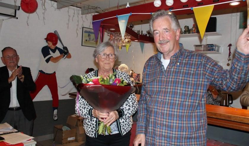 John Kocken uit Waalwijk is vorige week tijdens de jaarvergadering van COVC de Langstraat gehuldigd vanwege zijn 50-jarig lidmaatschap.