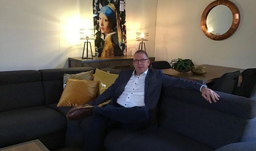 Na ruim 25 jaar te hebben gewerkt bij Otje van Potje heeft Henrico ter Harmsel vorig jaar de meubelwinkel overgenomen van Arend ter Steege.
