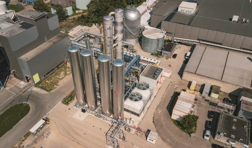 AVR kondigde in mei 2018 de bouw van de CO2-installatie aan in Duiven. Iets meer dan een jaar later is de installatie gereed.