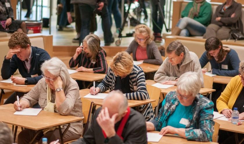 Op 15 februari wordt het 2e Groot Zoetermeers Dictee gehouden. Goede doelen kunnen zich hiervoor nu aanmelden. Foto Peter van der Linden
