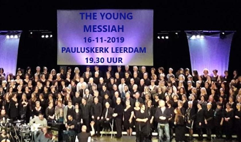 Na de pauze wordt The Young Messiah uitgevoerd. Eigen foto