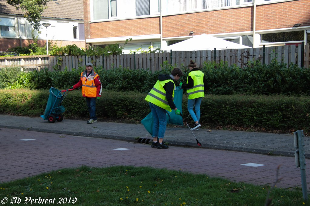 Opruimen zwerfafval Foto: Ad Verbiest © DPG Media