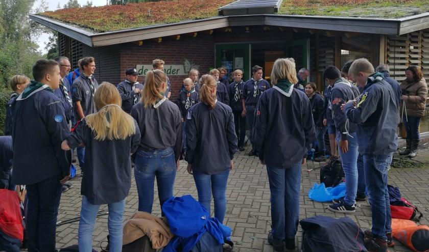 De Scouting doet mee aan Schoonmaakactie Zegerplas