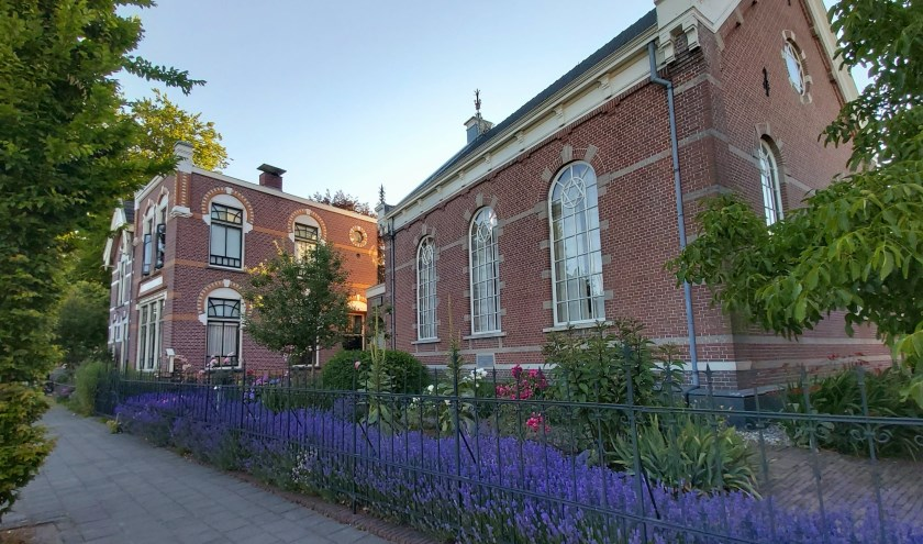 Synagoge complex aan de Spoorstraat in Winterswijk.
