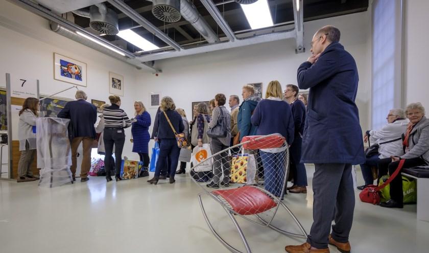 Tussen Kunst en Kitsch opnamedag bij het Stedelijk Museum Schiedam, januari 2019. Fotografie: Roel Dijkstra Fotografie.