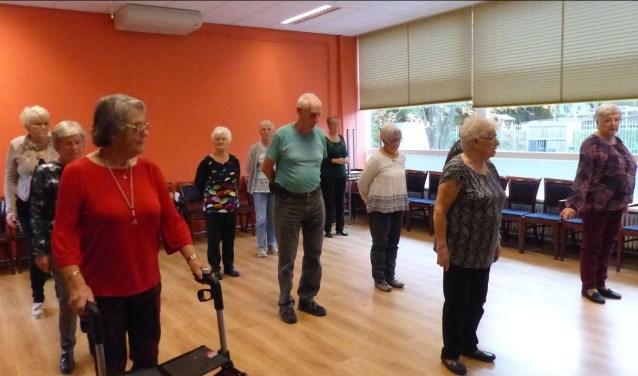 Linedance in MFC Zalmplaat. Foto: Roel van Deursen  © DPG Media