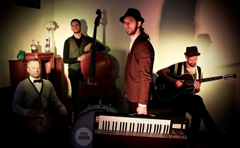 De Belgische live-band Scotch, No Soda! is zaterdag 2 november de hoofdact van de bluesavond in Groessen.