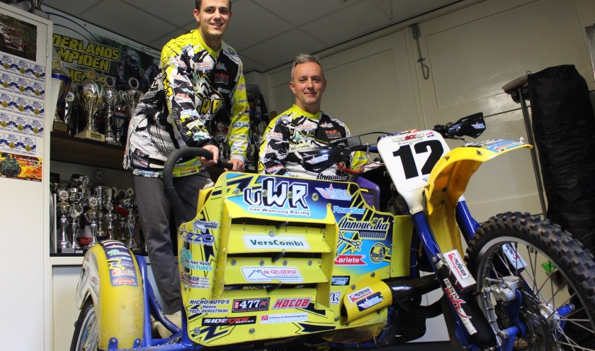 Brian (l) en Marcel van Wanrooij.